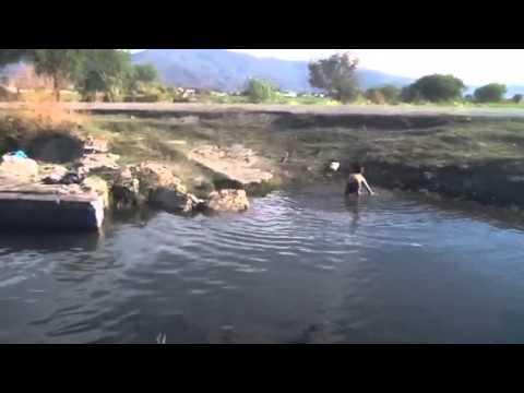 Atencingo Puebla el ojito,matando el calor