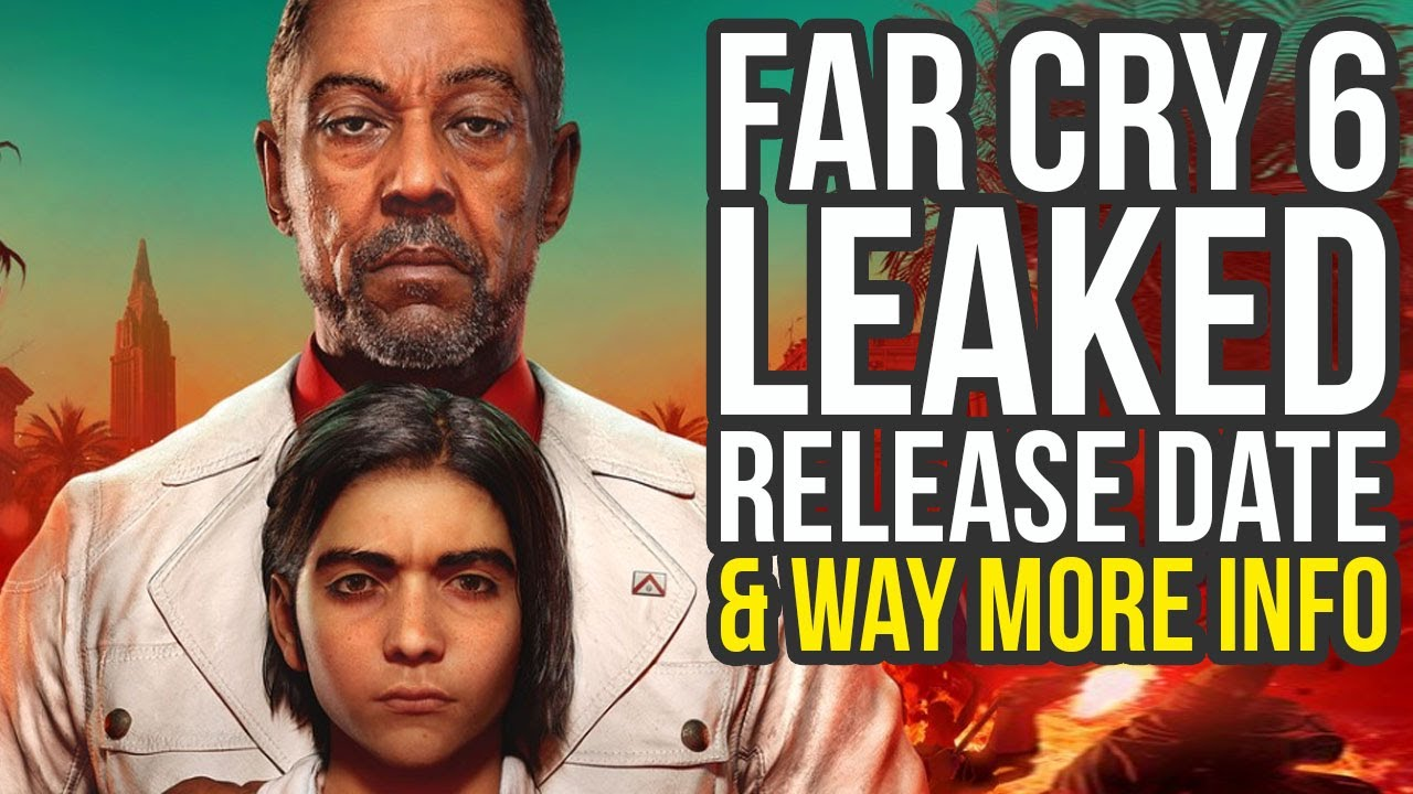 Far Cry 6 leaks, and it's apparently a Just Cause game
