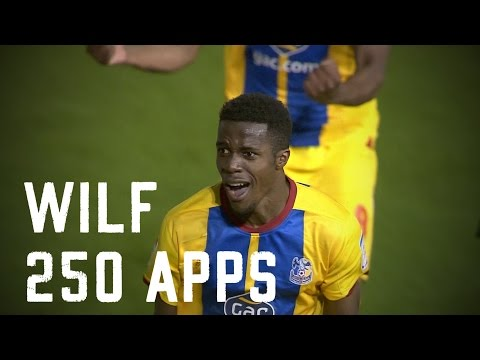 Wilfried Zaha 250 appearances for Crystal Palace FC | Best goals montage