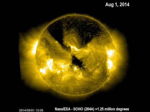 Electric Cold Fusion Sun (6) Solar-wind 'steam' Diminishing