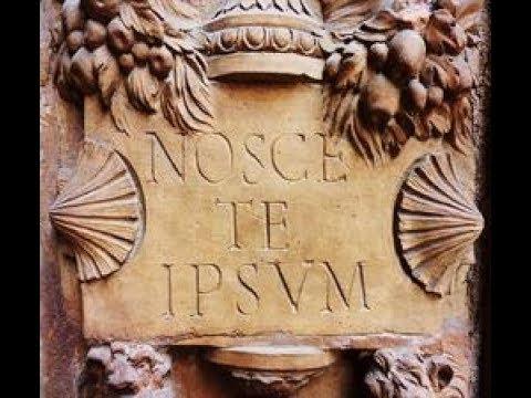 Resultado de imagen de NOSCE TE IPSUM