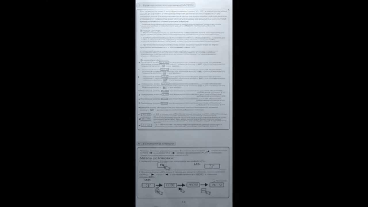 Chunghop rm 159e инструкция