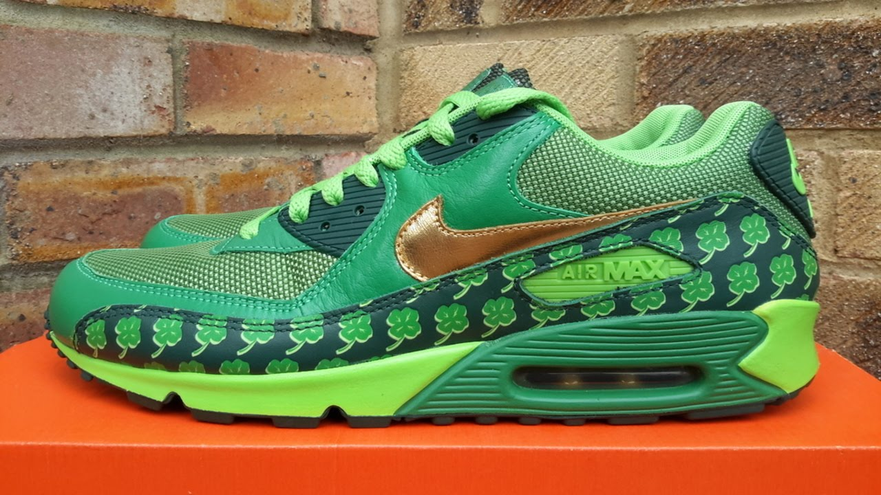online store b17bb a05ca ... coupon review nike air max 90 qk st. patricks day 2007 0a797 f5311