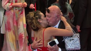 She said yes! Love steals the spotlight on Cannes red carpet