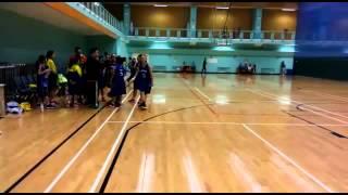 2016 九龍東區小學分會籃球比賽(女子組) 聖愛德華 vs