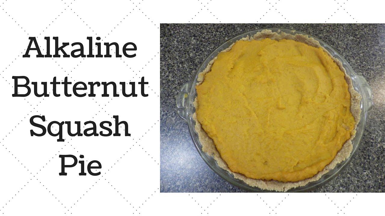 Butternut Squash Pie Dr Sebi Alkaline Electric Recipe – The
