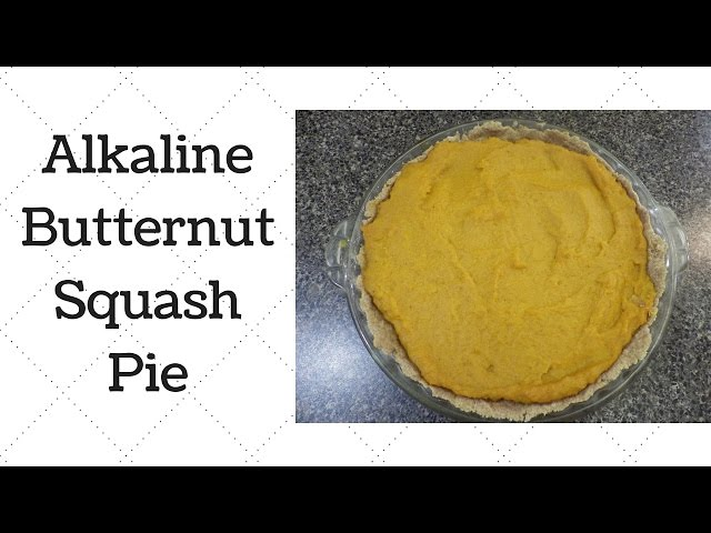 Butternut Squash Pie Dr Sebi Alkaline Electric Recipe