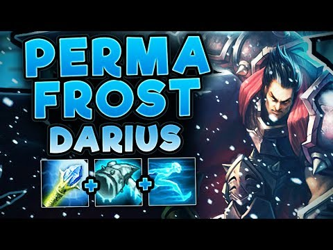 PERMAFROST DARIUS BUILD! YOU CAN'T OUTRUN ME! NEW FUN BUILD DARIUS TOP SEASON 7! - League of Legends