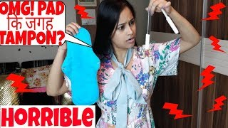 Omg!😱PAD कि जगह TAMPON कैसे USE करे?आप हैरान रह जाएंगे😯HOW TO USE TAMPON|Be Natural