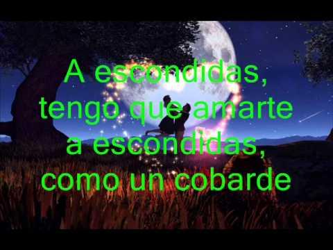 A ESCONDIDAS (PIEL DE ANGEL) - CAMILO SESTO
