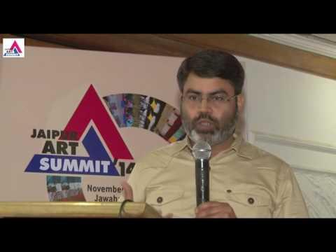 Shiv Prasad Joshi in Jaipur Art Summit