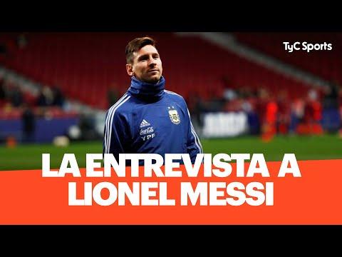 La Entrevista COMPLETA A Lionel Messi En Estudio Fútbol