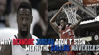 The interesting story of why deandre jordan didn't sign with the dallas mavericks in 2015
