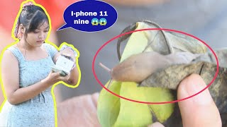surprising FAN with FAKE I-phone 11 / COMING SOON