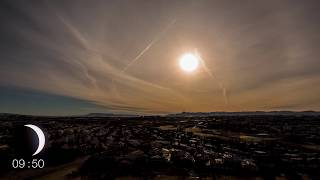 4K Solar Eclipse Timelapse in Iceland 2015