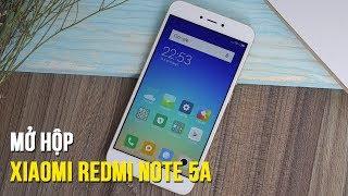 Mở hộp Xiaomi Redmi Note 5A: Chip Qualcomm, màn hình 5.5 inch giá hơn 3 triệu