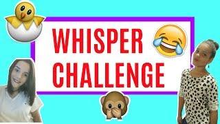 WHISPER CHALLENGE FT. TIA DANIELA GONZALEZ