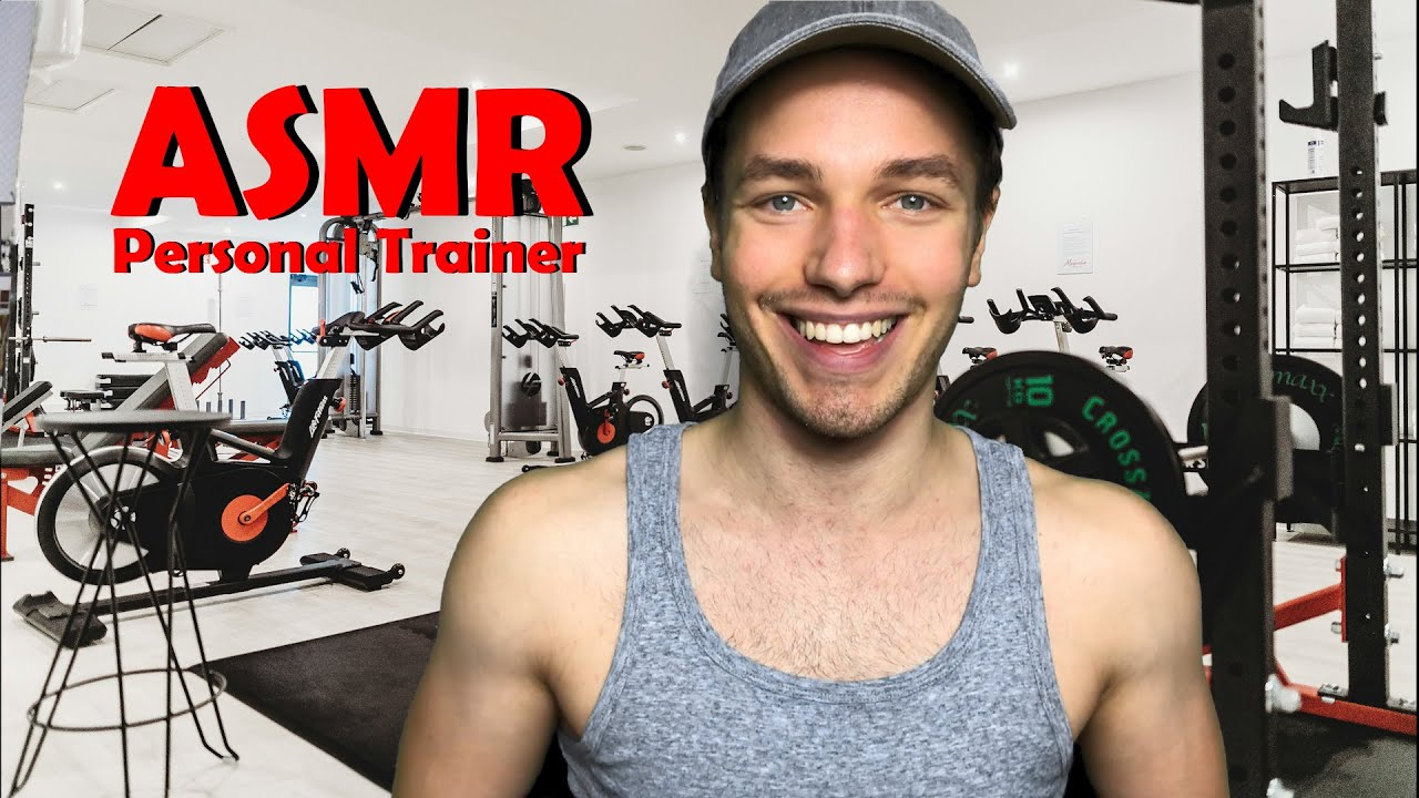 [ASMR] PERSONAL TRAINER ROLE PLAY - My Workout Routine