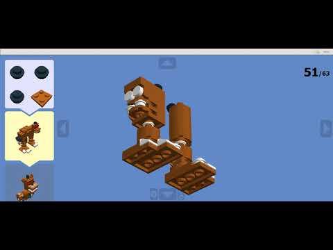 Кошмарный Фредди в лего!