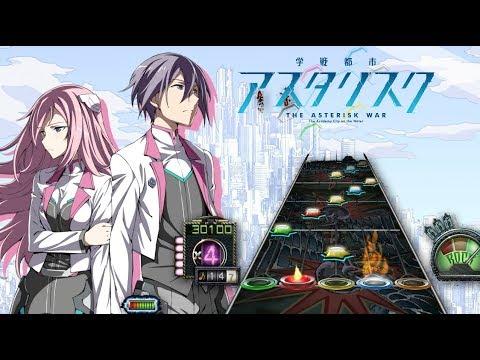 [Guitar hero 3] Gakusen Toshi Asterisk 2nd Season Opening Full (The Asterisk War)
