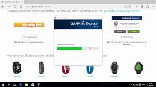 ITProblem.dk - Installer Garmin Express