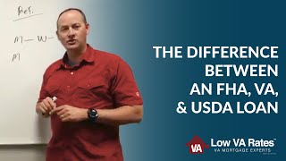 What Is The Difference Between An Fha, Va, And Usda Loan