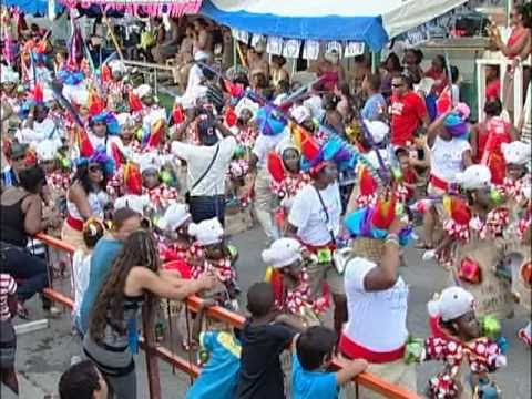 Childrens' Carnival Parade in Curacao