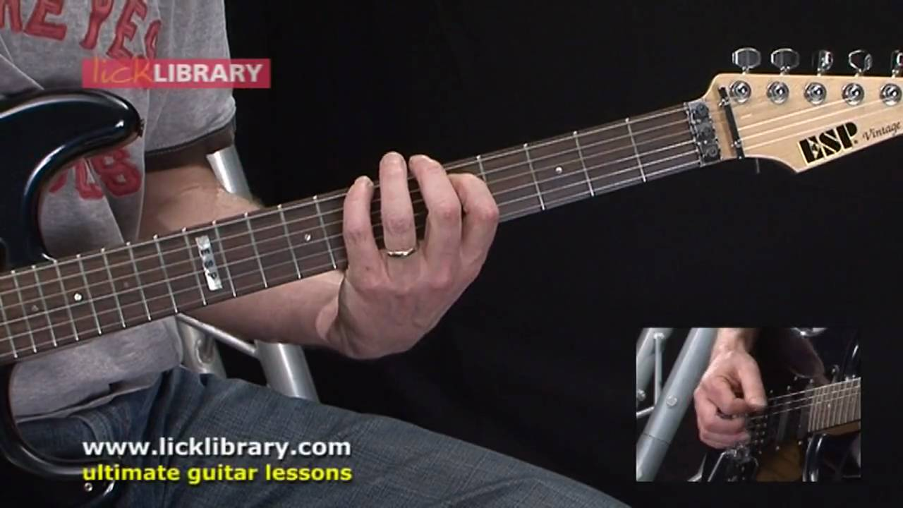 Guitar Chord Library With Danny Gill Session 11 Licklibrary