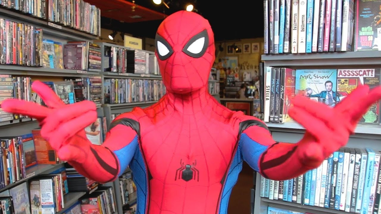 Spider Man Far From Home In Videodrome Atlanta Ga Spider Man In