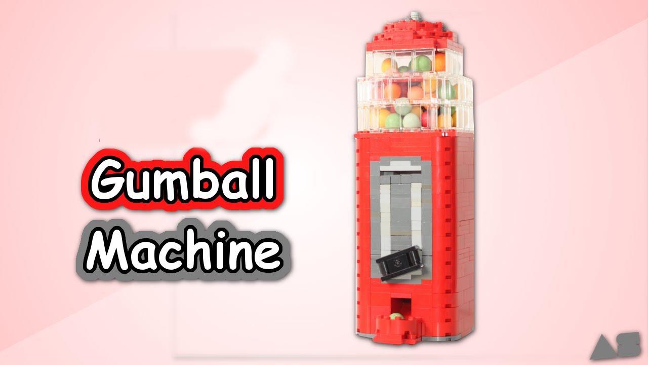 LEGOブロックでガチャガチャキャンディーマシンをDIY☆おもちゃ
