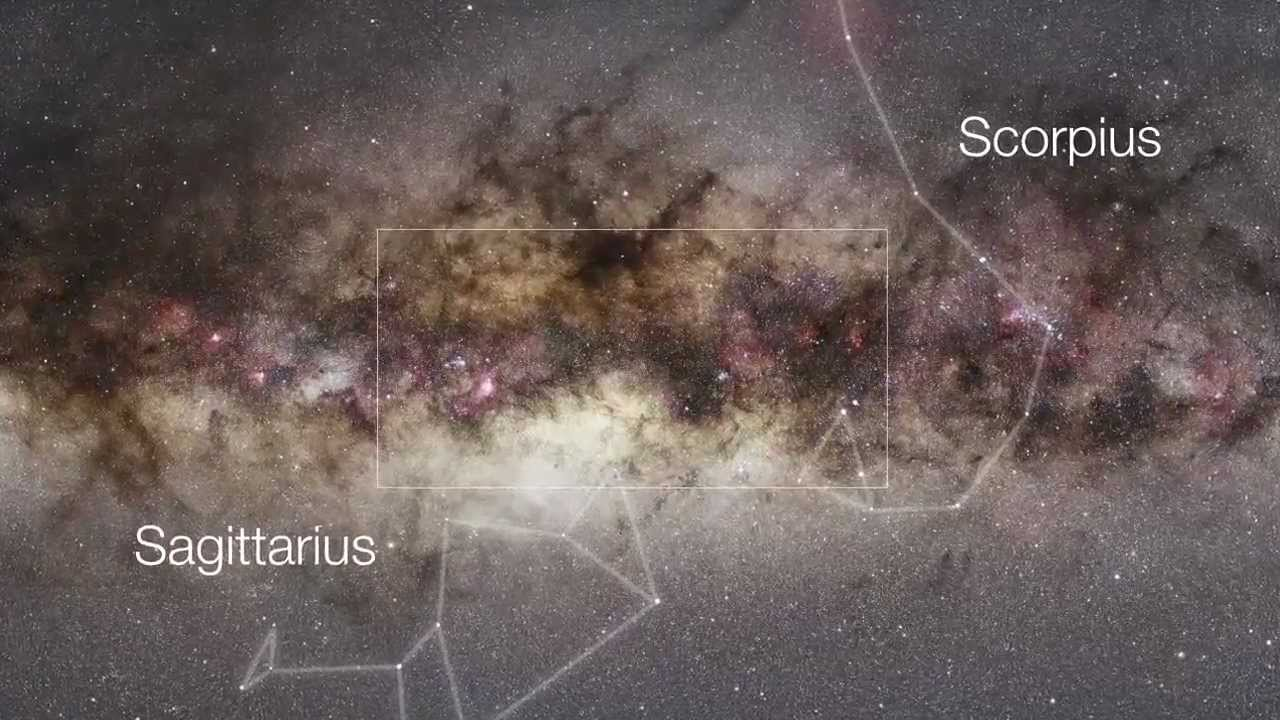 VISTA's Gigapixel View of the Milky Way | Infrared and Visible Light | ESO  Astronomy HD Video