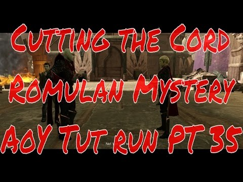 Cutting the Cord - Romulan Mystery with Sela - 2016 AoY Fed run PART 35 - Star Trek Online