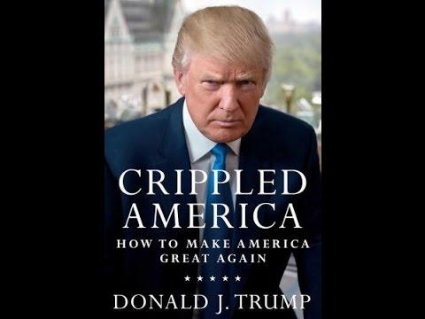 "Donald Trump Debuts New Book ""Crippled America""  (Nov 3 2015)"