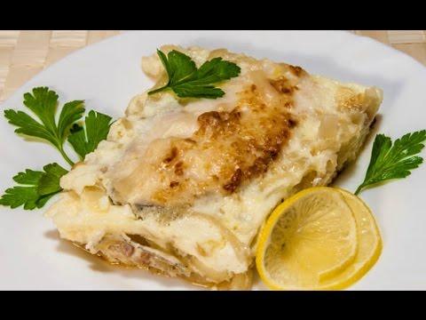 Рецепт рыба под омлетом
