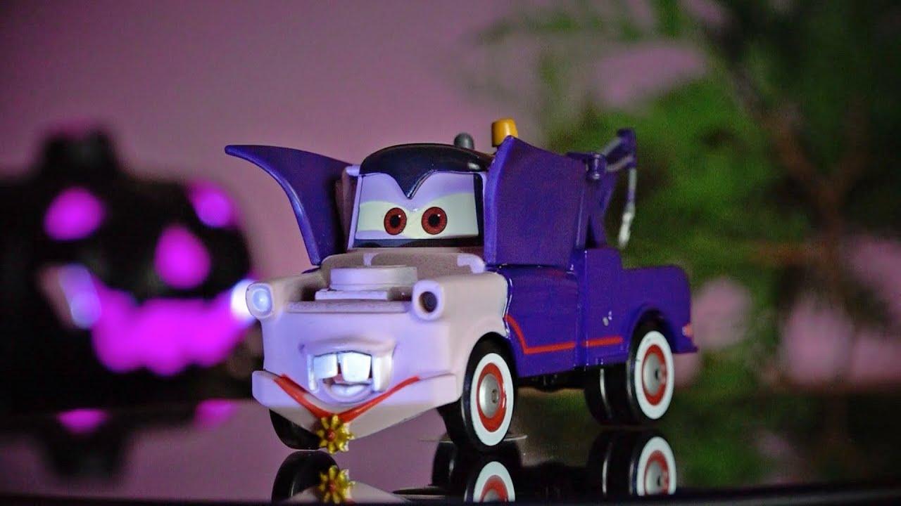 Mater Cars Wallpaper Disney Cars Toys Halloween Dracula Mater Series 1 Youtube