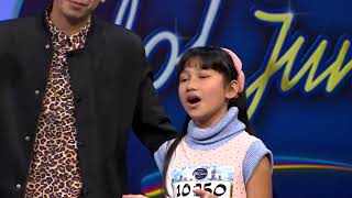 "Asyik! Marsha Cover Lagu Marion Jola 'Jangan"" Ft. Rayi - Indonesian Idol Junior 2018"