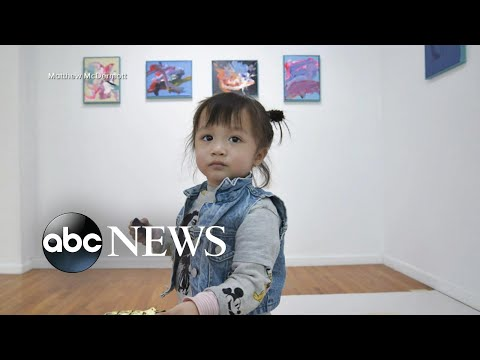 Meet the 2-year-old artist whose paintings are shaking up the art world l GMA