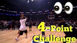 LaVar Ball Vs Ice Cube 4 Point Challenge (Big Baller Brand Vs Big 3)