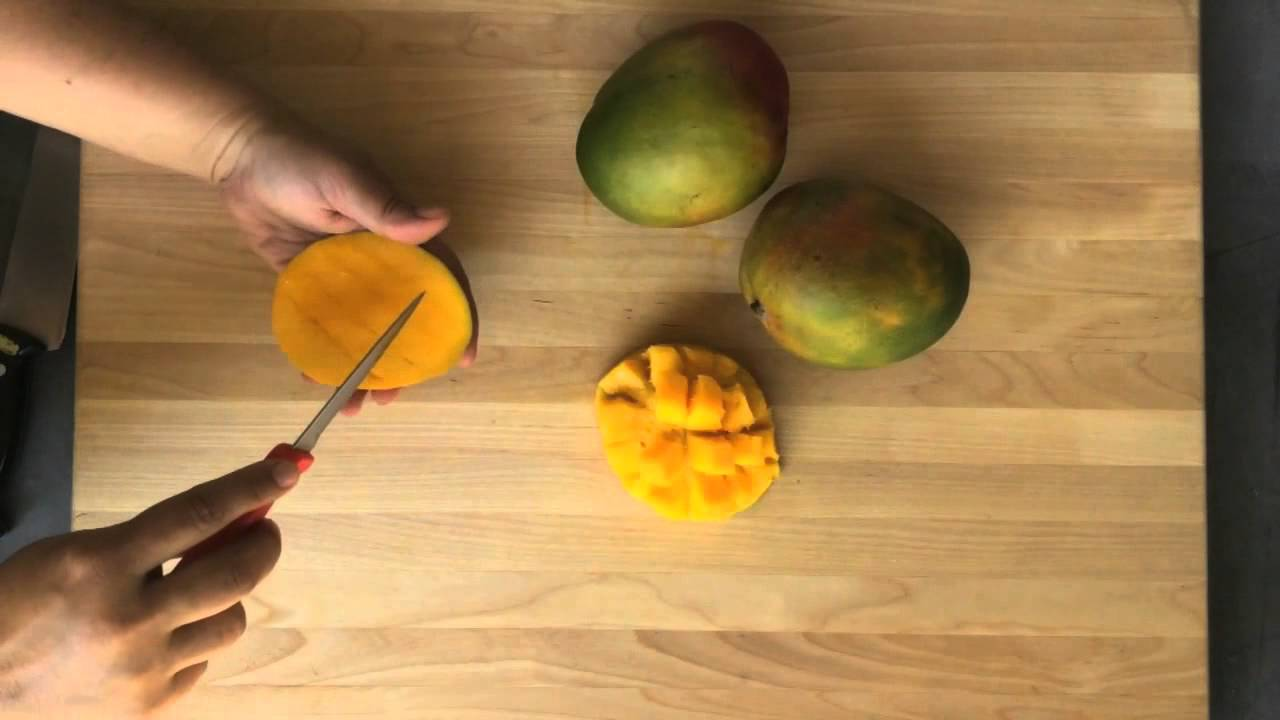 How To Easily Cut A Mango Sunset