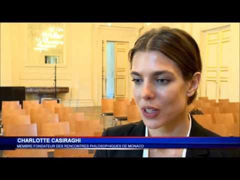 Charlotte Casiraghi Membre Fondateur Des Rencontres Philosophiques de Monaco
