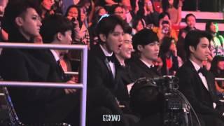 Реакция Бэкхёна EXO на песню BTS Danger