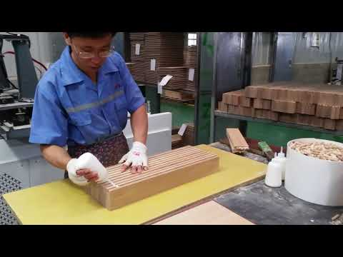 high frequency frame and solid wood assembly machine