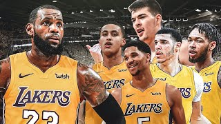 Lakers Win vs the Thunder Behind a great showing Of our Young Core!!!
