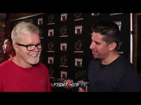 "FREDDIE ROACH ON RIGONDEAUX QUITTING ""THERES NO QUIT IN REAL FIGHTERS!"""