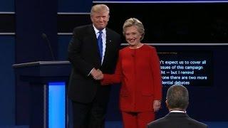 Trump claims debate victory over Clinton