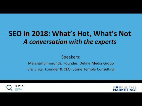 SEO Trends In 2018: What's Hot, What's Not
