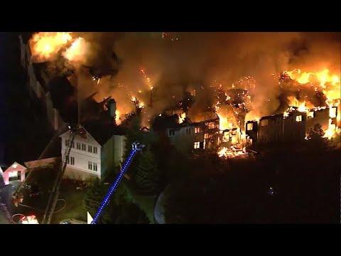 Fire rips through Pennsylvania senior living community