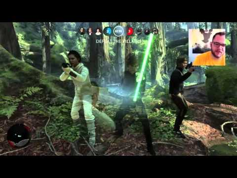 Star Wars: Battlefront on the PS4 with Aaron Pauley!