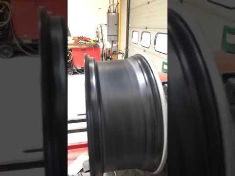Straightened alloy wheel 3