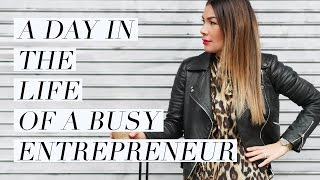 A Day In The Life Of A Busy Entrepreneur